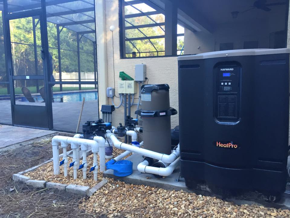 Pool filtration & heating systems
