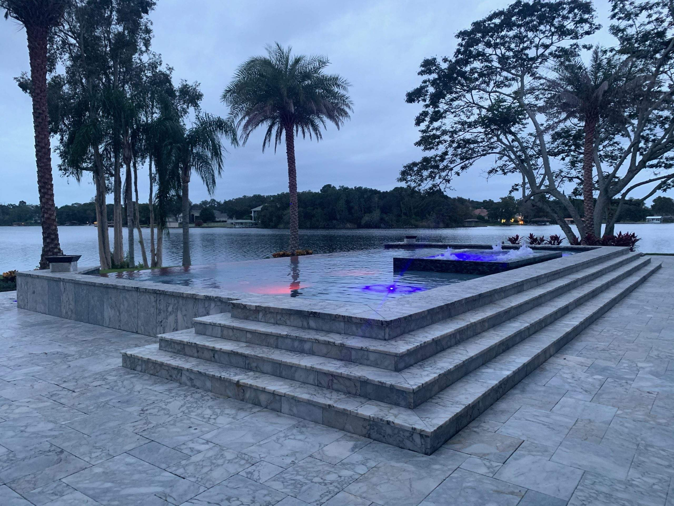 Custom swimming pool construction in Altamonte Springs