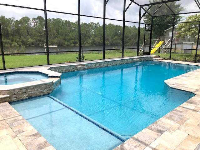 Custom swimming pool construction in Flagler Beach